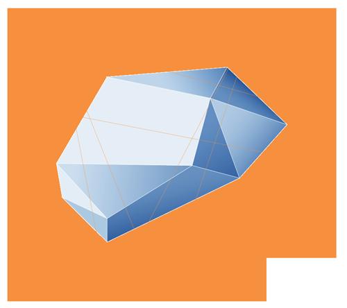 Mandarino Blu 3D