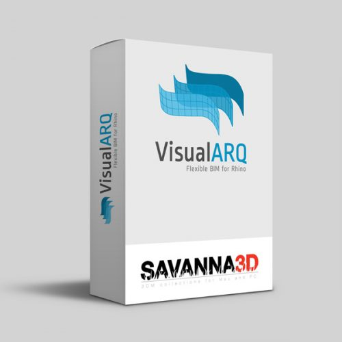 VisualARQ 2.5 e Savanna 3D